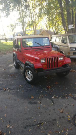 1987 Jeep YJ Wrangler for Sale in Amissville, VA