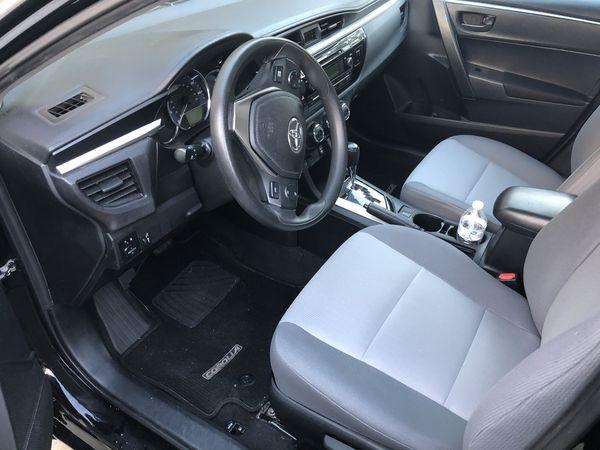 2014 Toyota Corolla base model
