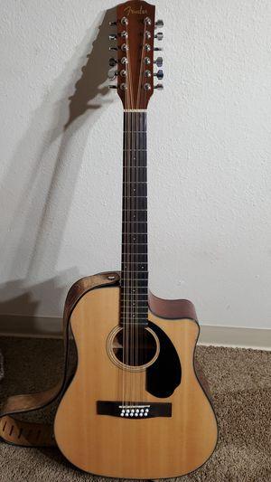 12 string guitar. Fender for Sale in Denver, CO