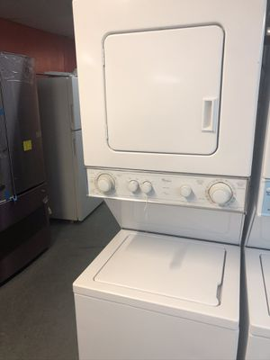 """Used whirlpool 24"""" stackable. 1 year warranty for Sale in St. Petersburg, FL"""