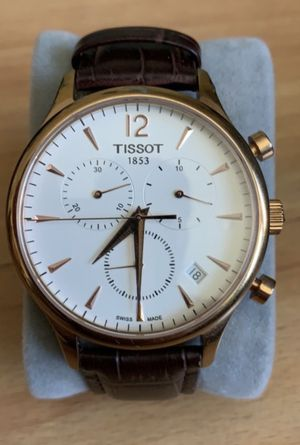 Watch - Tissot leather brown men's for Sale in Los Angeles, CA