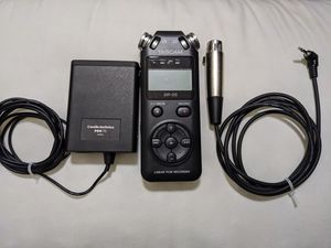 Audio-Technica PRO 70 Cardioid Lavalier Mic + Tascam Recorder for Sale in Los Angeles, CA