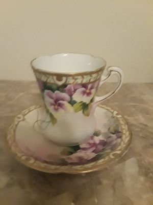 VINTAGE MIKADO EXTRA JAPAN TEA CUP AND SAUCER for Sale in Las Vegas, NV
