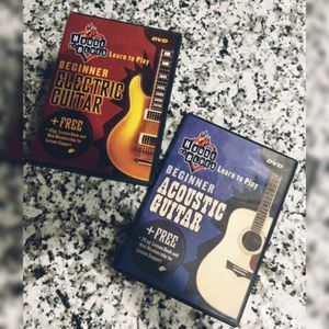 The House of Blues Beginner Guitar DVD's for Sale in Fort Worth, TX
