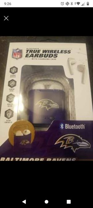 Ravens Wireless earbuds for Sale in Baltimore, MD