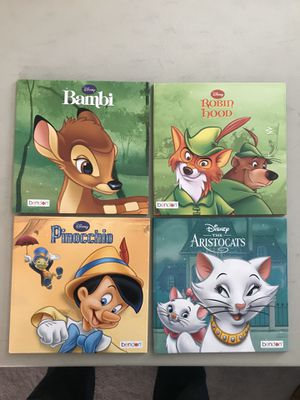 DISNEY Classic Hard Cover Books, 4 of them!! 📚❤️ for Sale in Goodyear, AZ