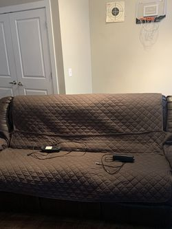 Brown Leather Reclining Sofa Free Delivery for Sale in Columbus,  OH