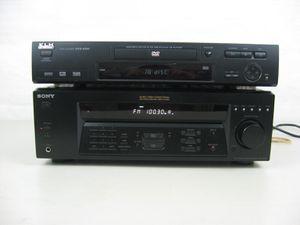 Sony Receiver Str-DE185 & KLH DVD/CD Player DVD-8350 for Sale in Springfield, VA