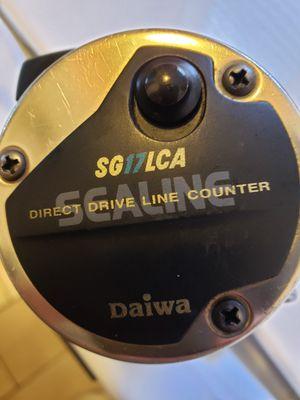 Use Daiwa SG17LCA sealine line counter fishing reel for Sale in Stockton, CA