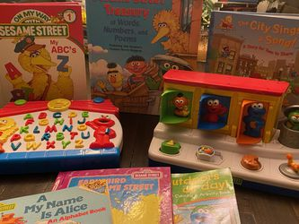 Sesame Street And Elmo Package for Sale in Phoenix,  AZ