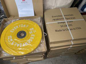 25lb Bumper Weight Plates for Sale in Costa Mesa, CA