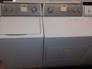 Whirlpool Super Plus Capacity Washer/Electric Dryer Set for Sale in St. Louis, MO