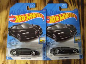 2 hot wheels black Bugattis! for Sale in Gallatin, TN
