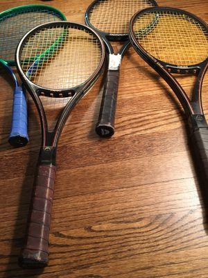 Tennis Racket Lot- 4 Total- 38 firm for Sale in Atlanta, GA