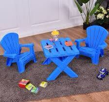3-Piece Plastic Children Table Chair Set OP3232 for Sale in West Covina, CA