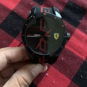 Ferrari Watch Black $195 for Sale in Downey, CA