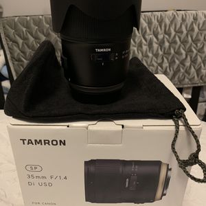 Tamron 35mm F/1.4 Di USD for Sale in Lawrence, NY