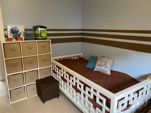 Modern twin kids/adult bed for Sale in Philadelphia, PA