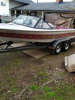 1984 mastercraft 190 skiboat for Sale in Portland,  OR