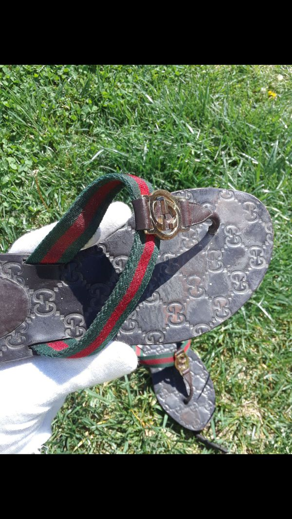 c94a8e207 Authentic Used Gucci Sandals Thong for Sale in Philadelphia, PA ...