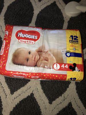 Huggies , pampers diapers size 1 for Sale in Berkeley, CA