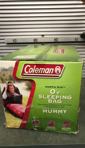Colman North Rim 0 degree mummy sleeping bag for Sale in Riverside, CA