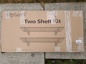 "Hyloft 2 Shelf Kit 24"" x 48"" for Sale in Hilliard, OH"