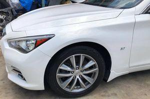 2014-2019 INFINITI Q50 FRONT LEFT DRIVER SIDE FENDER for Sale in Fort Lauderdale, FL