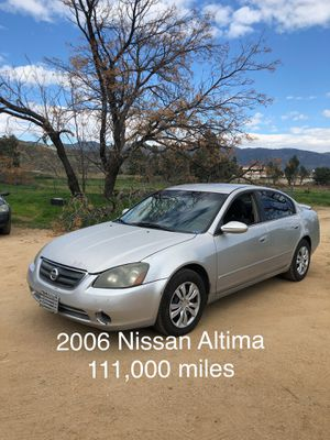 2006 Nissan Altima for Sale in Fontana, CA