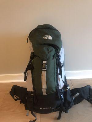 The North Face Badlands 75L Backpack for Sale in Washington, DC