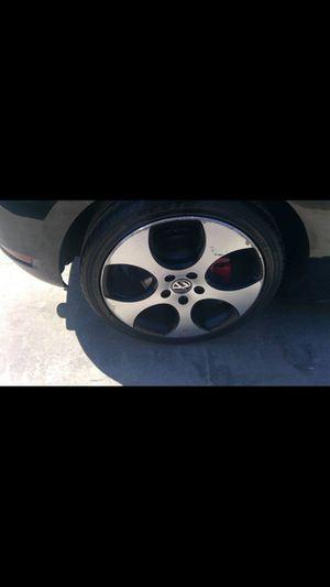 Golf GTI wheels 18 inch for Sale in Los Angeles, CA