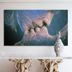 Ocean Love Canvas Framed and ready to hang Brand new condition Size: 40 inch by 30 for Sale in Queens, NY