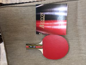 Professional table tennis racket 100% new for Sale in Stafford, VA