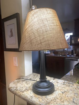 Bronzed table lamp for Sale in San Diego, CA
