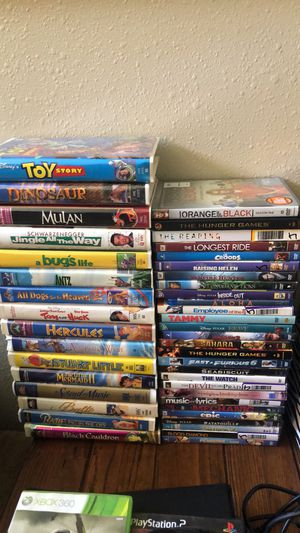 Movies vhs and dvd for Sale in Albuquerque, NM