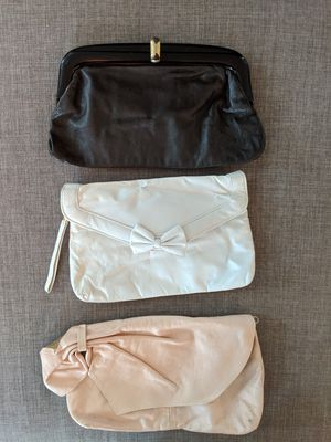 Three vintage clutch purses for Sale in Washington, DC