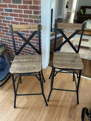 Bar Stools (Set of 2) for Sale in Easley, SC