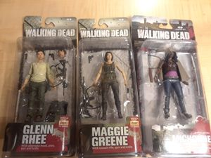 Todd McFarlane Walking Dead action figures for Sale in Philadelphia, PA
