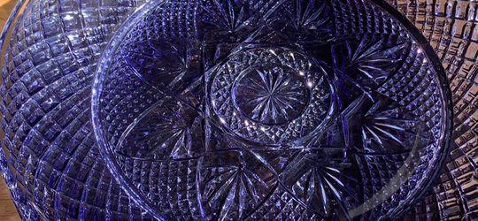 Amethyst / Purple Glass Plates France for Sale in Nashville,  TN