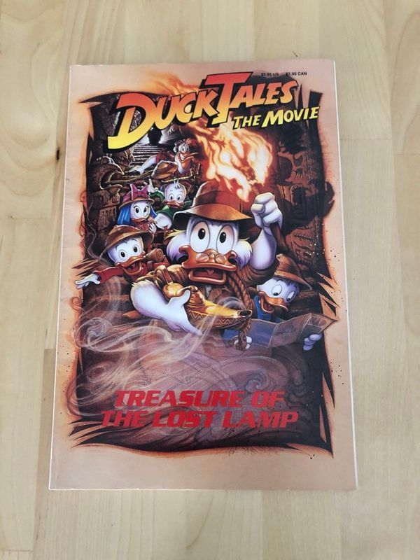 Disney ducktales the movie vintage comic
