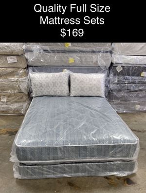 Quality Full Size Mattress Sets (New) Financing & Same Day Delivery Available for Sale in Atlanta, GA