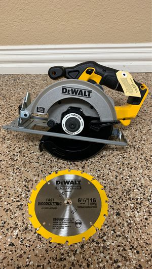 "New Dewalt 20v 6 1/2"" Circular Saw for Sale in Frisco, TX"