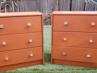 Gorgeous Pair of Hand-Painted Dressers for Sale in Los Angeles,  CA