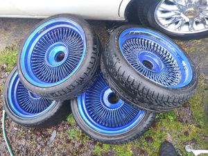 100spoke deep dish Daytons for Sale in Vancouver, WA