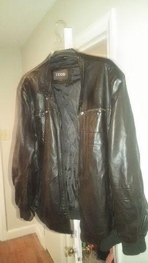 Men's Brown leather jacket 2x for Sale in Cuba, MO