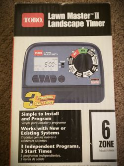 New Toro Sprinkler Timer for Sale in Lake Worth,  FL