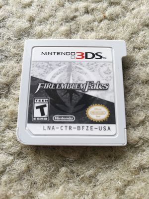 Fire Emblem Fates special edition Nintendo 3DS! Rare! for Sale in Seattle, WA