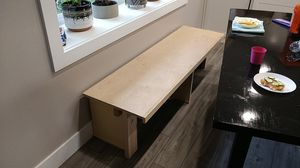 """BENCH. KITCHEN BENCH.SIZE 67*19 1/2 .17"""" HEIGHT for Sale in Vancouver, WA"""