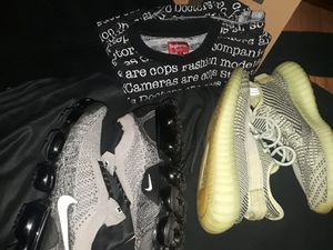 Nike vapormax supreme Adidas yeezy 350 for Sale in Phoenix, AZ