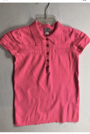 Youth Girls Worthington M Hot Pink Shirt Very Stretchy for Sale in Sunbury, OH